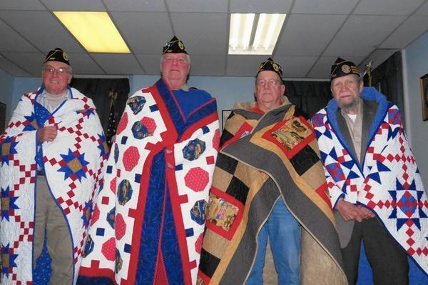 Quilts Of Valor Wrap Veterans In Gratitude