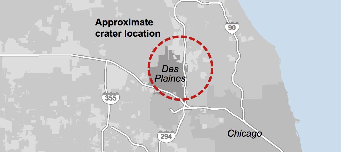 When a meteor struck The Des Plaines Disturbance Chicago Tribune