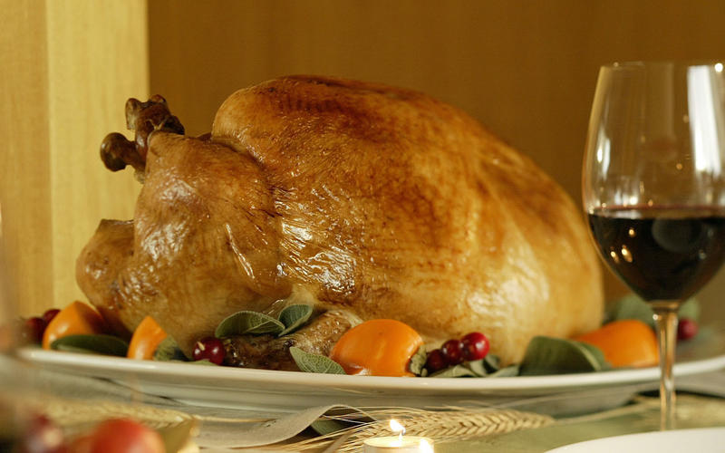 Basic wet-brined turkey