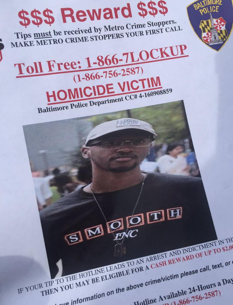 Wonderful FBI, Baltimore Police Announce $20,000 Reward For Info On Killing Of Morgan  State Student   Baltimore Sun
