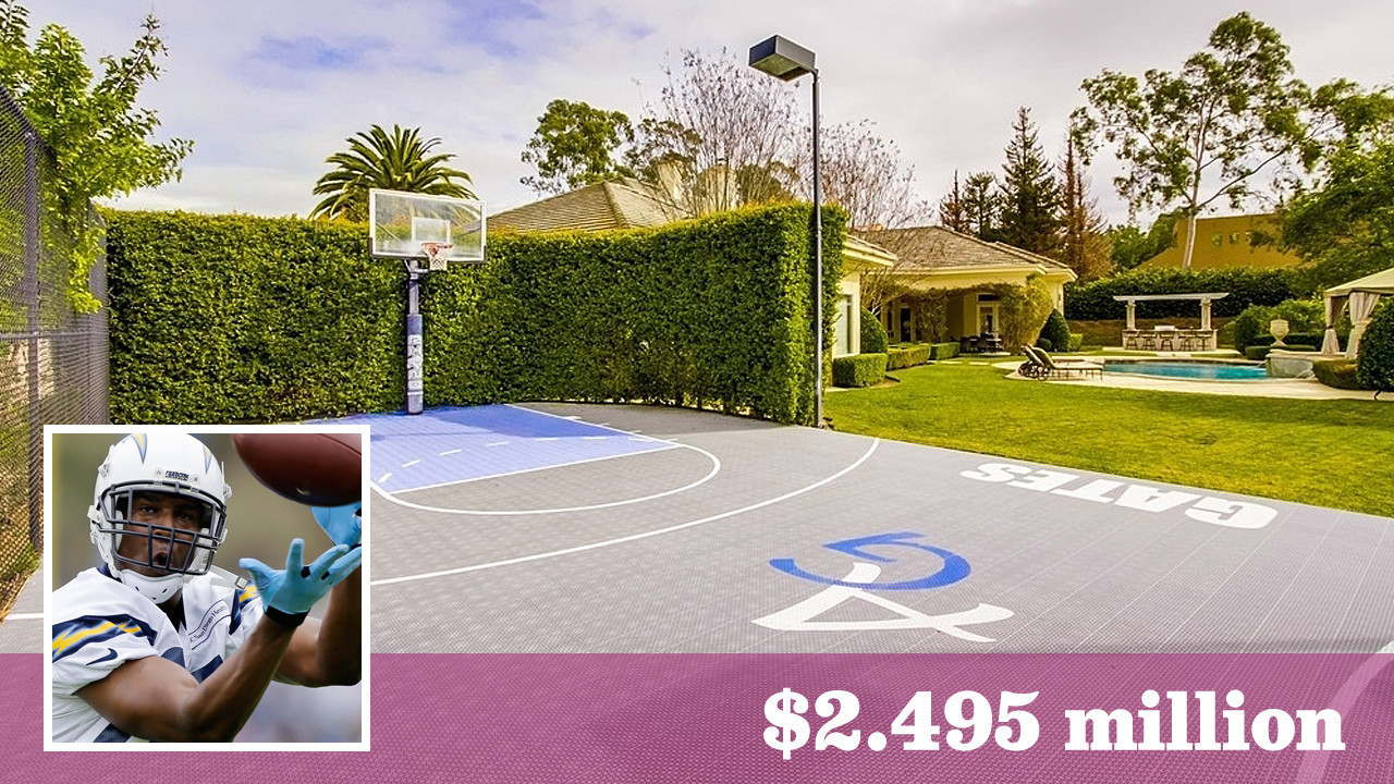 L A Chargers Tight End Antonio Gates Lists His Poway Home
