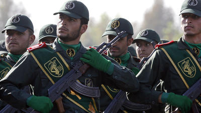 Warnings for White House on terror designation for Iran Revolutionary Guard