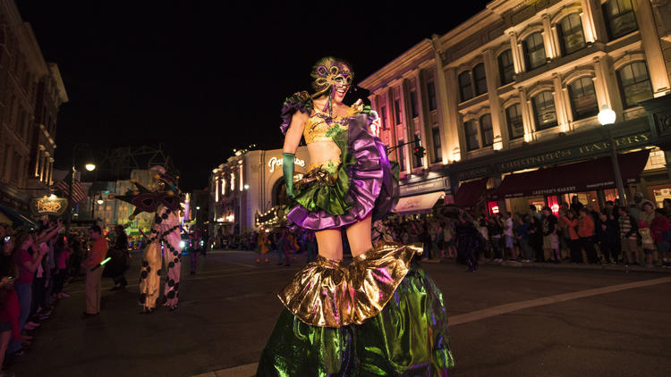 Pictures: Mardi Gras at Universal Orlando