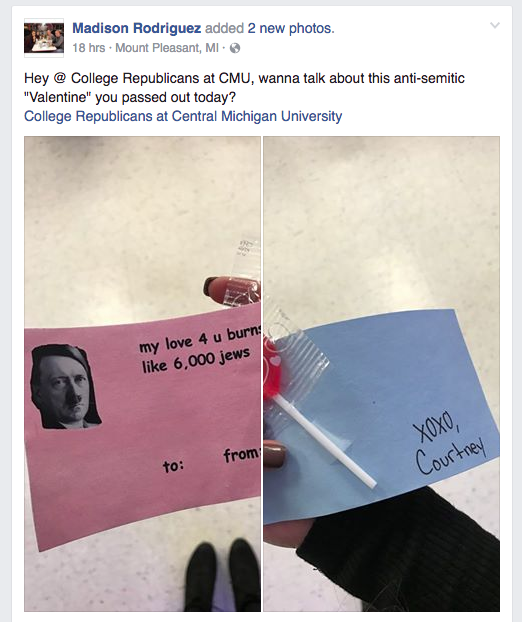 Elegant University Officials Investigating Hitler Valentineu0027s Day Card Handed Out  On Campus   Chicago Tribune