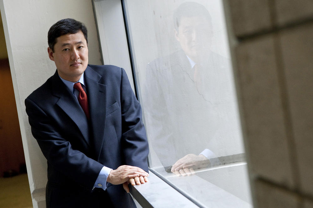 John Yoo in 2010. (Laura Morton / For The Times)