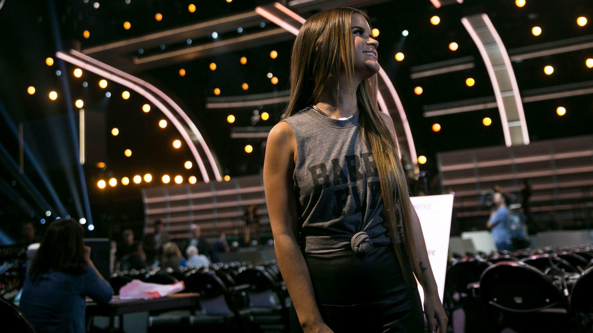 "Maren Morris released ""Dear Hate"" on Monday evening. Morris is donating profits from the song to the Music City Cares Fund, in honor of the Las Vegas shooting. (Robert Gauthier / Los Angeles Times)"