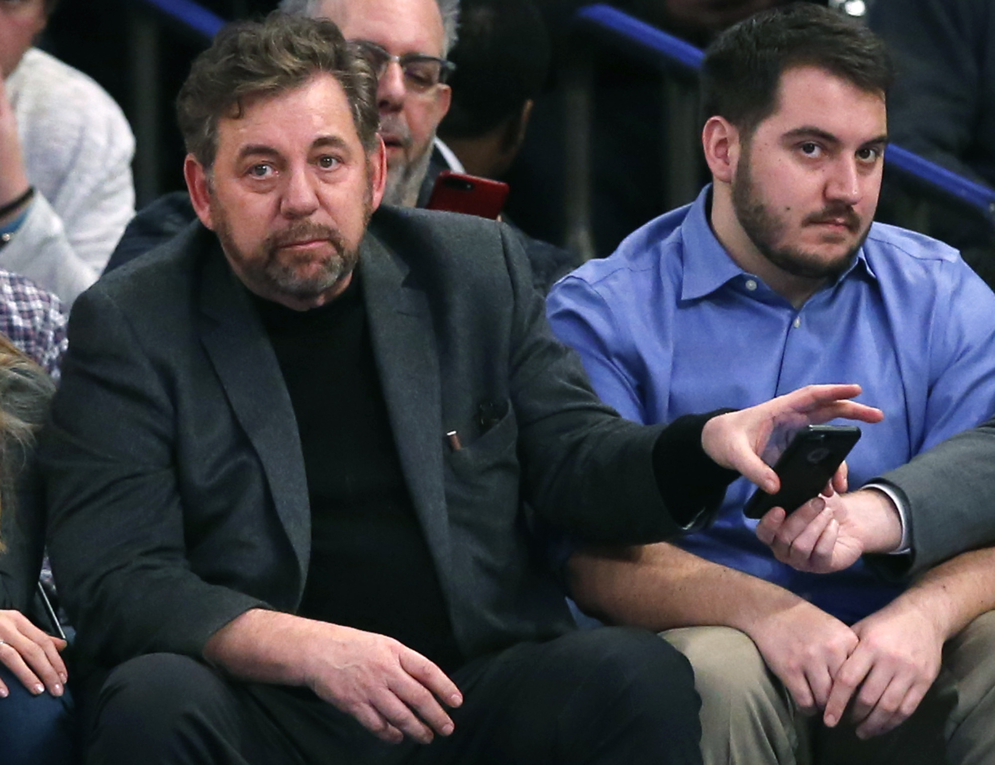 Knicks Owner Fires Arena Security Chief In Wake Of Charles Oakley Arrest Chicago Tribune