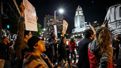 Immigration arrests in L.A. spark fear, outrage, but officials say they are routine