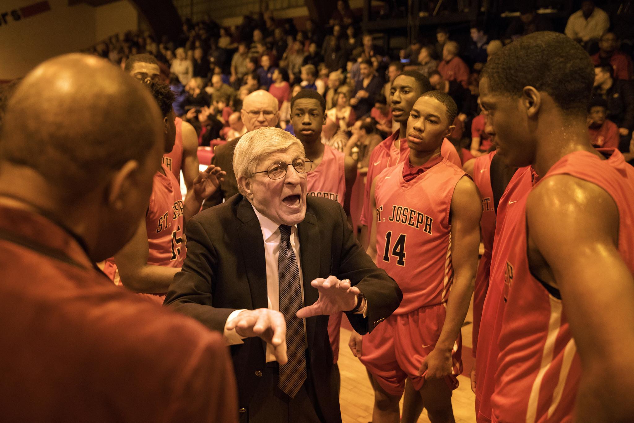 St Joseph S Gene Pingatore First Boys Basketball Coach In
