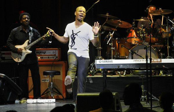 Kirk Franklin locks down best gospel album - LA Times