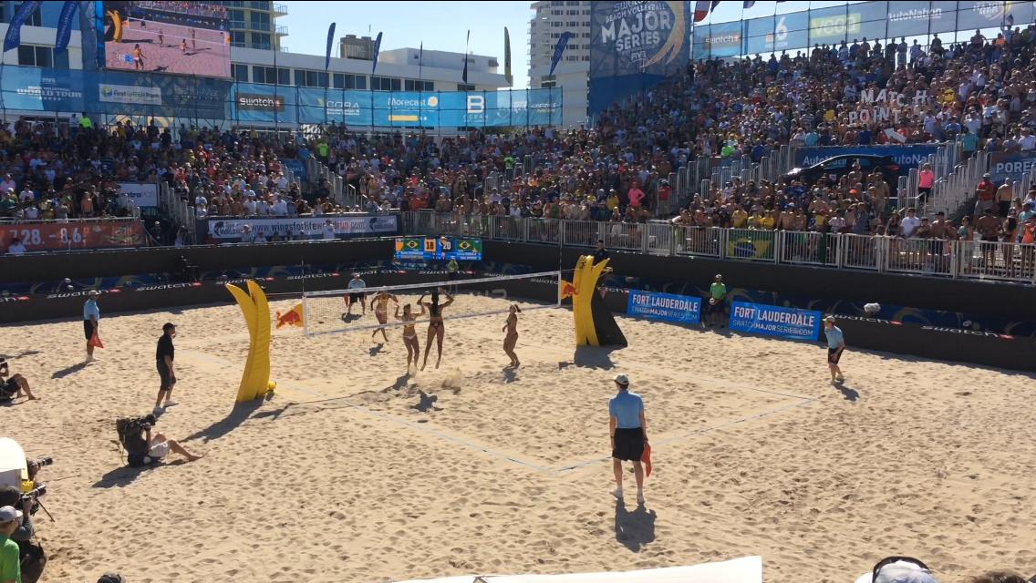 Brazilians Larissa And Talita Win Gold In Swatch Major Volleyball Series Women S Final Sun