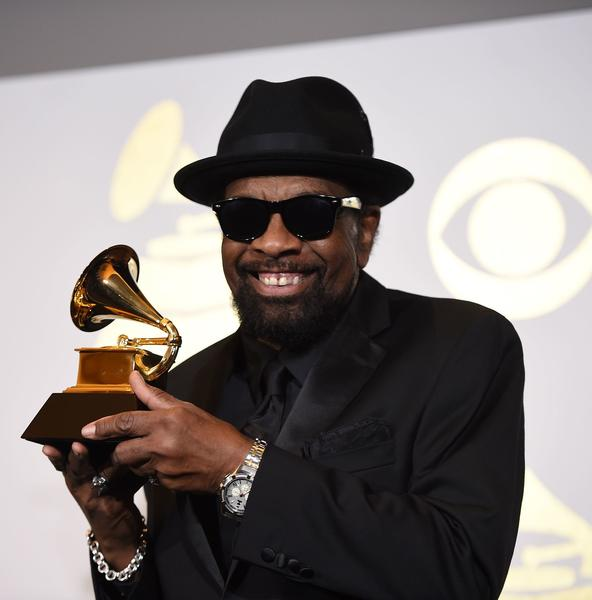 William Bell holding his first Grammy. (Robyn Beck / AFP / Getty Images)