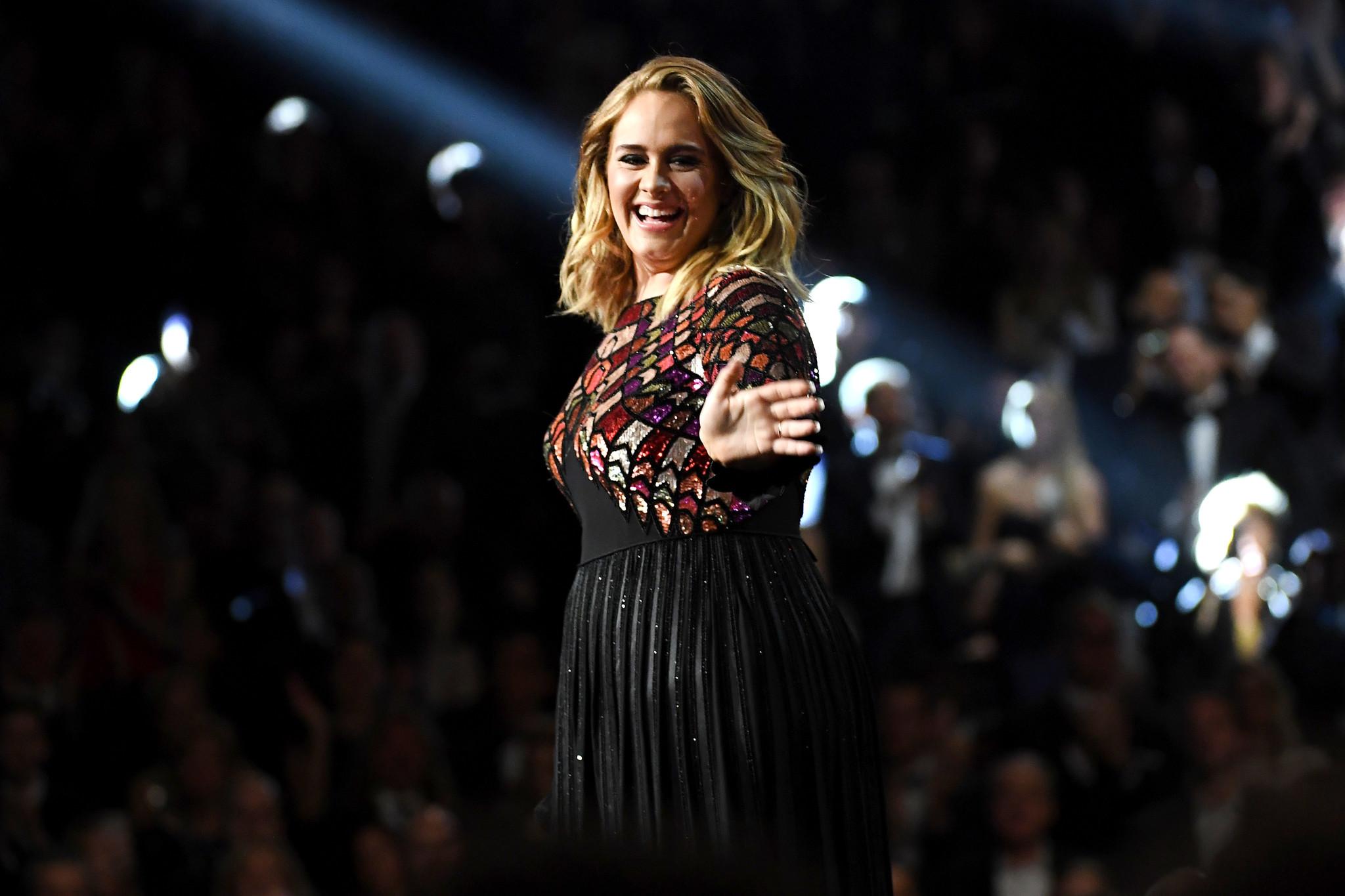 Adele (Kevork Djansezian / AFP / Getty)