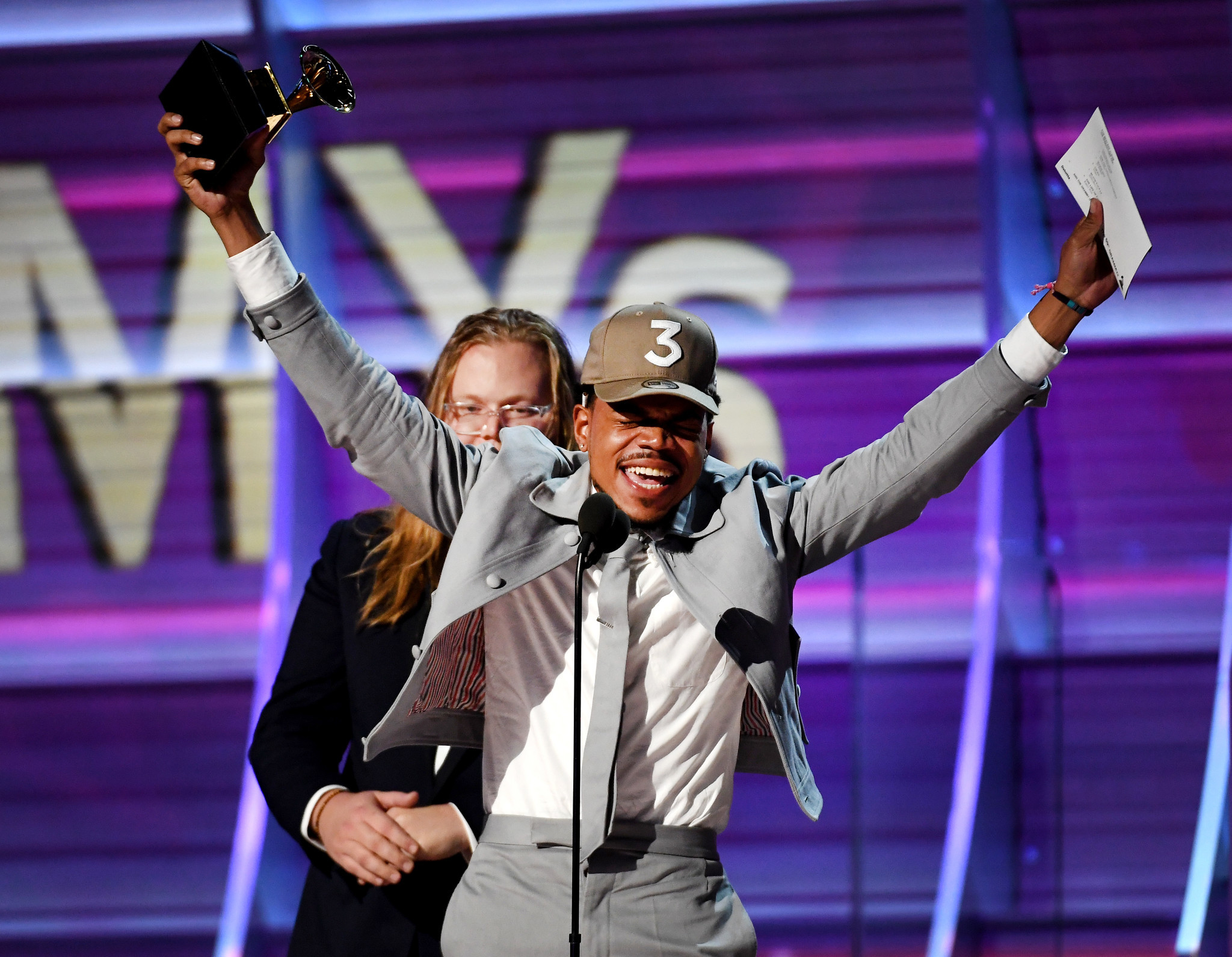 Image result for chance the rapper grammy
