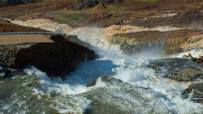 Updates: New storms approach, but officials confident Oroville Dam and spillways will hold up