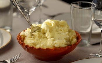 Creamy mashed potatoes