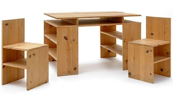 Great Two Donald Judd Chairs Reunited With A Judd Desk Via Joint Huntington,  LACMA Acquisition   LA Times