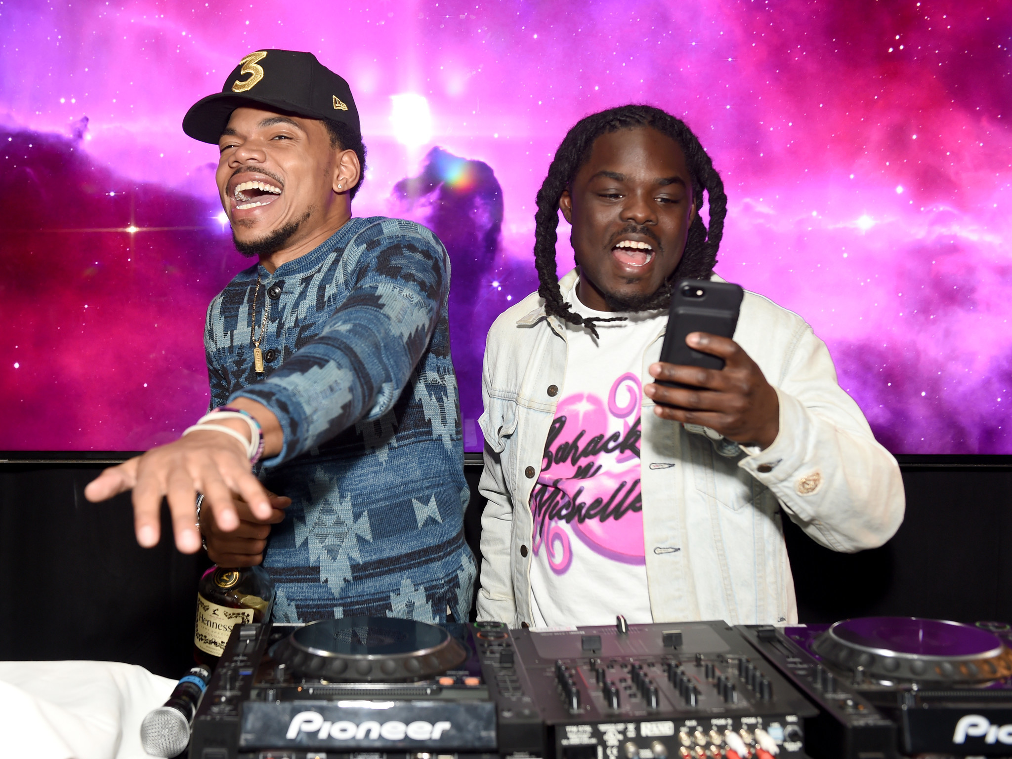 The coloring book grammy - Armed With Three Grammys Chance The Rapper Celebrates With Lavish Party At The Chateau Marmont La Times