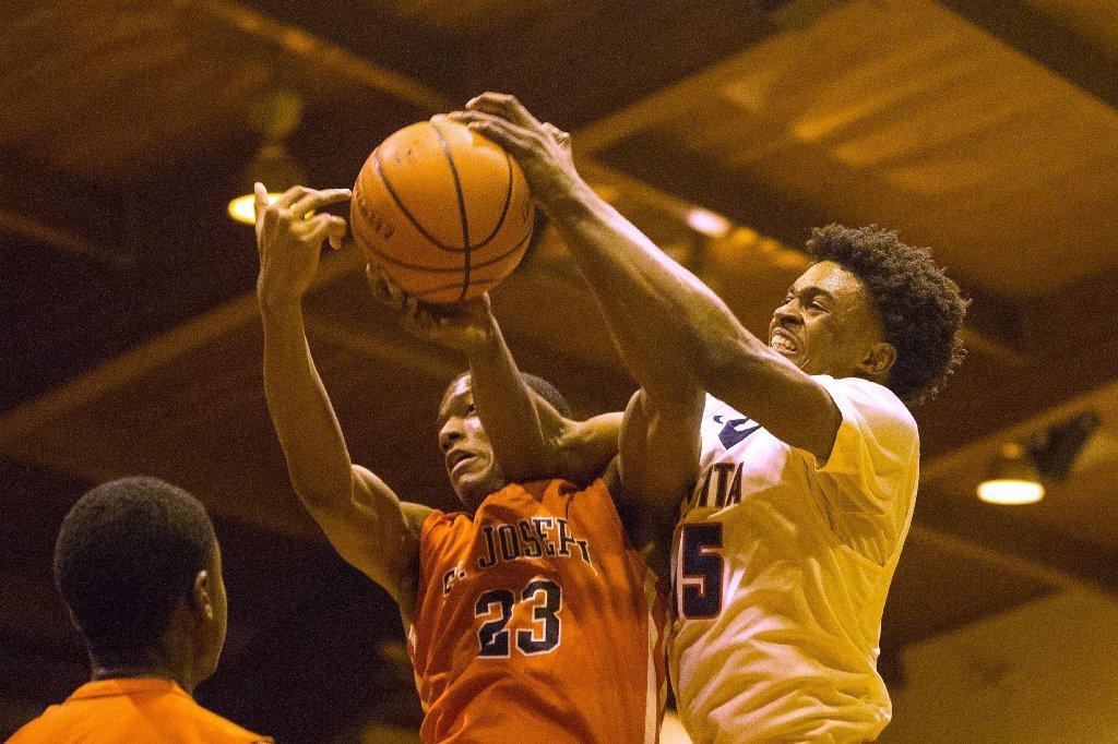 Boys Basketball Milestone Aside St Joseph Showing