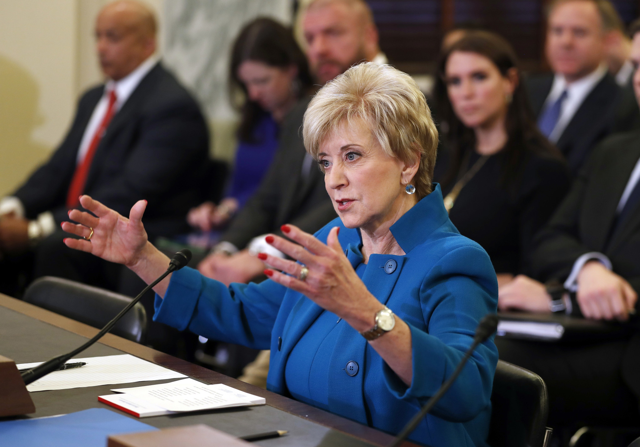 Linda McMahon. (Alex Brandon / Associated Press)