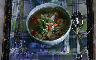 Provencal Soupe au Pistou