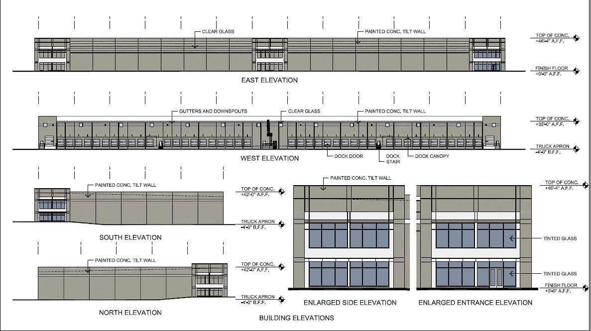 Duke realty plans warehouse on land owned by brazilian for Warehouse building plans