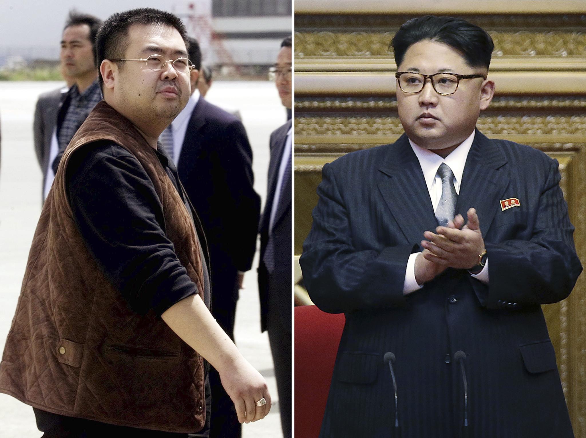 In Malaysia, stepbrother Kim Jong-un killed 14.02.2017 78