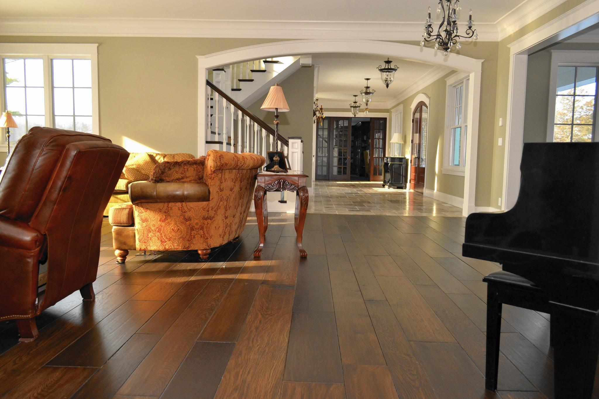 Wider Planks Darker Stains Among Wood Flooring Trends