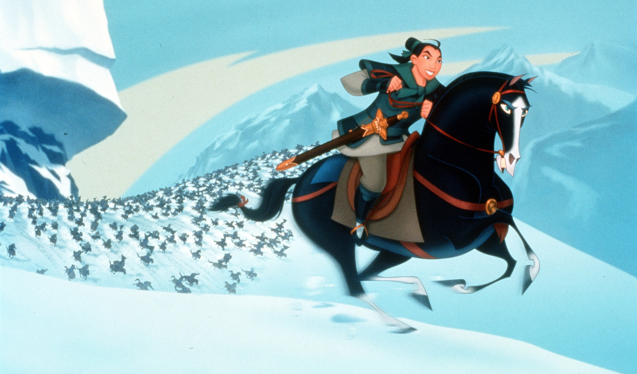 mulan movie essay niki caro to helm live action mulan movie la times a scene from quot mulan quot