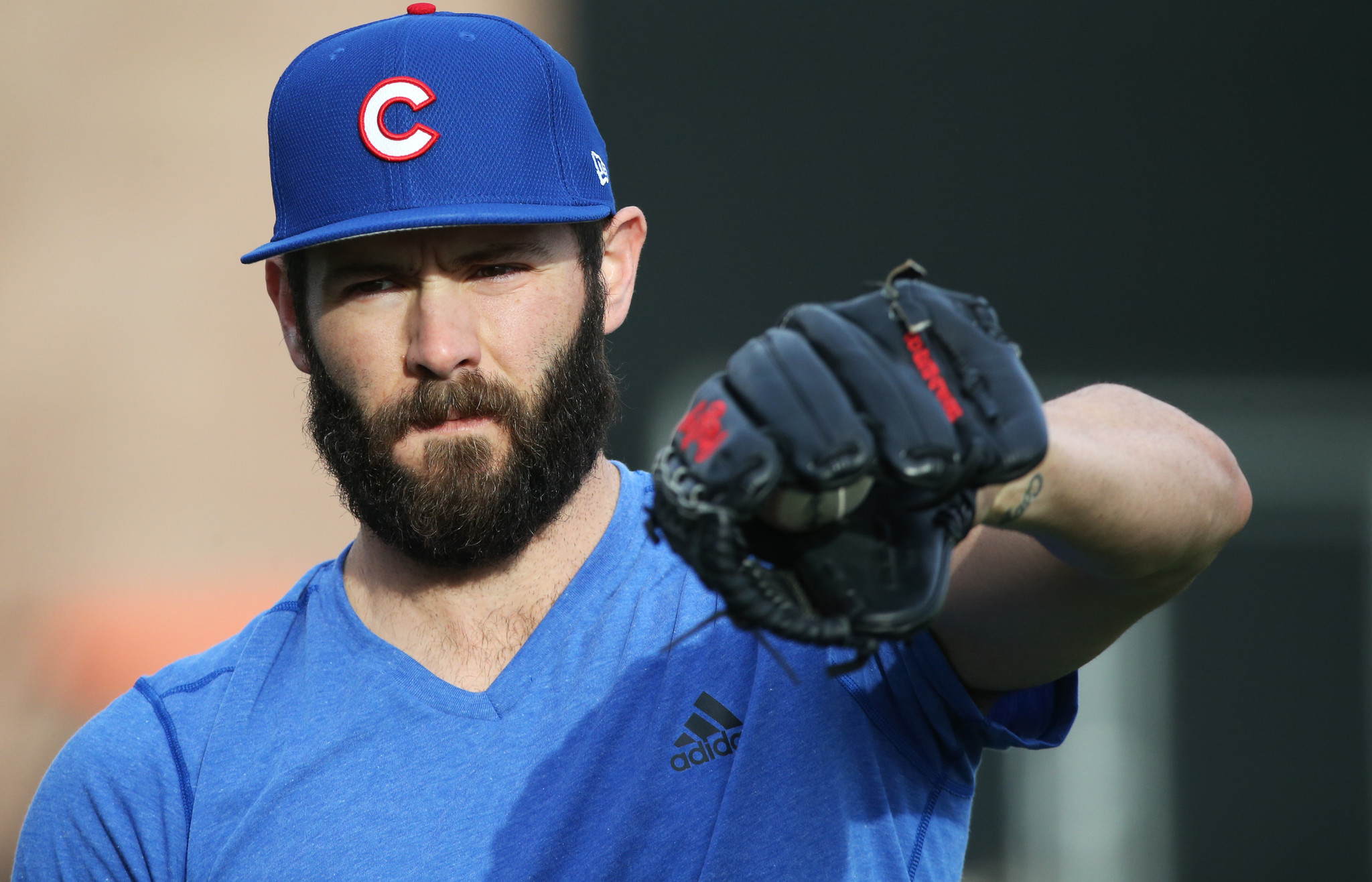 Jake arrieta pays off bet hopes cubs still are paying him for Jake arrieta tattoo