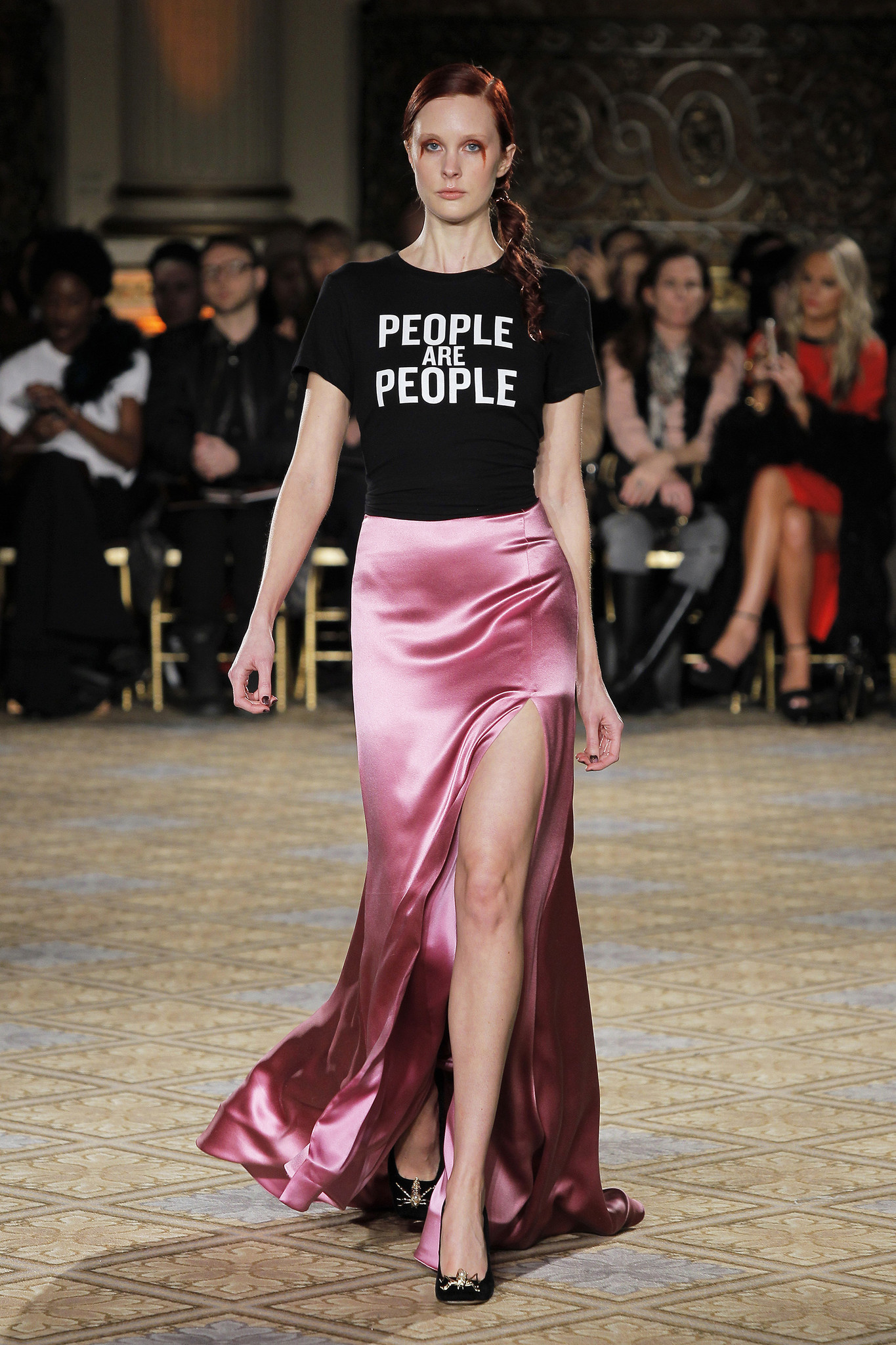Designers get political in New York Fashion Week shows ...