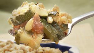 Zucchini crumble
