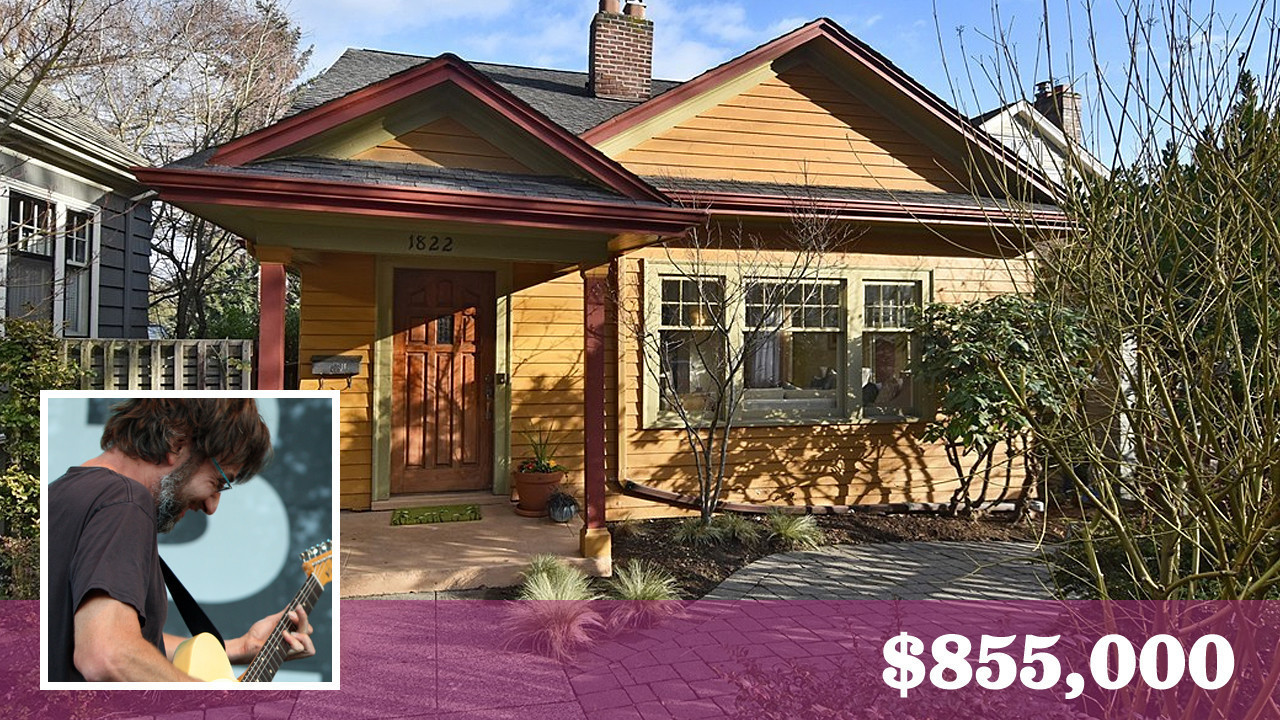 Pearl Jamu0027s Stone Gossard Sells Seattle Bungalow For Over The Asking Price    LA Times