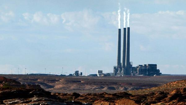 The Navajo Generating Station. [Ross D. Franklin / Associated Press)