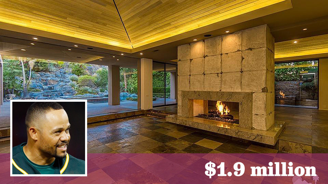 double play baseball player coco crisp lists another home in