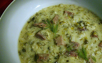 Mayeritsa Greek Easter Soup