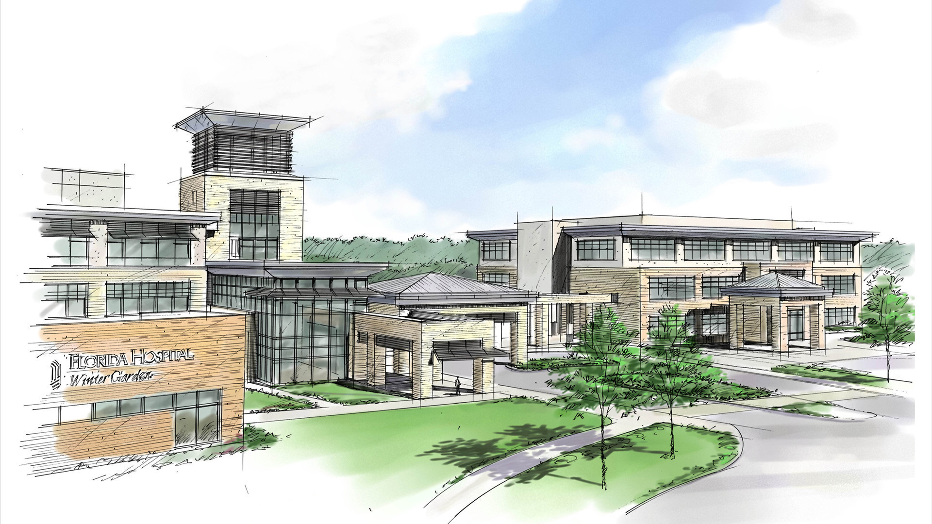 new medical office building going up at florida hospital winter