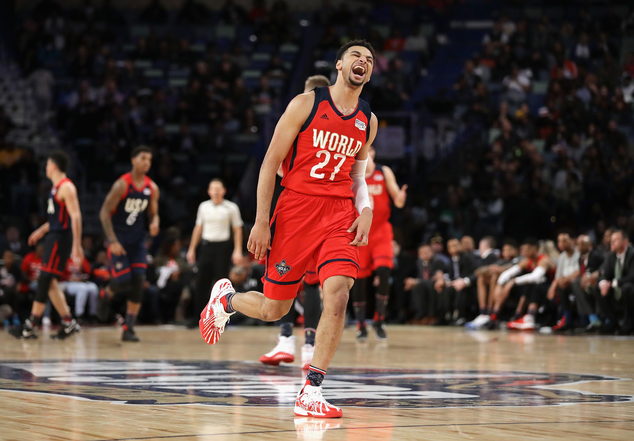 Jamal Murray Buddy Hield Lead World Past U S 150 141 In