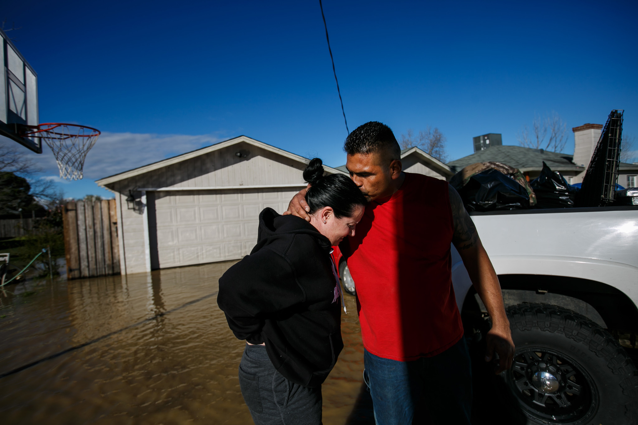 Flooding fears heighten as another powerful storm takes aim at Northern California