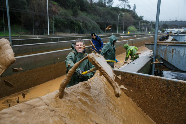 'High risk' of flooding Monday in Northern California as waterways reach their limits