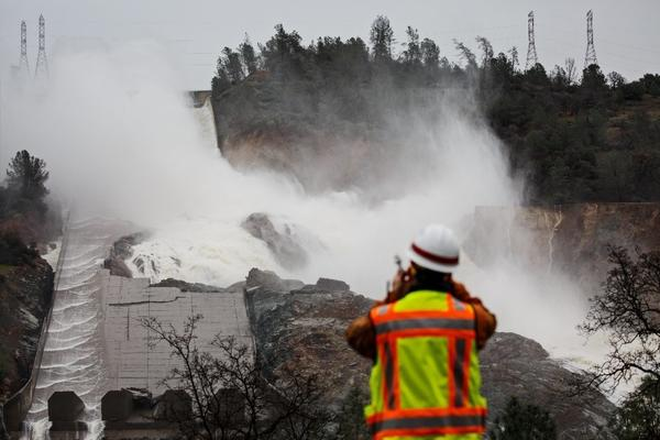 Oroville Dam is about to face its next big test as a new storm moves into the area