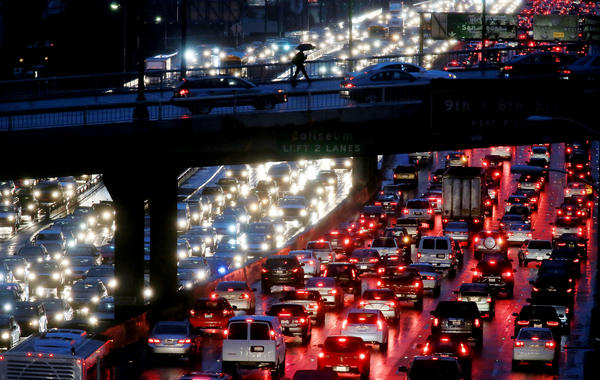 Los Angeles is the world's most traffic-clogged city, study finds