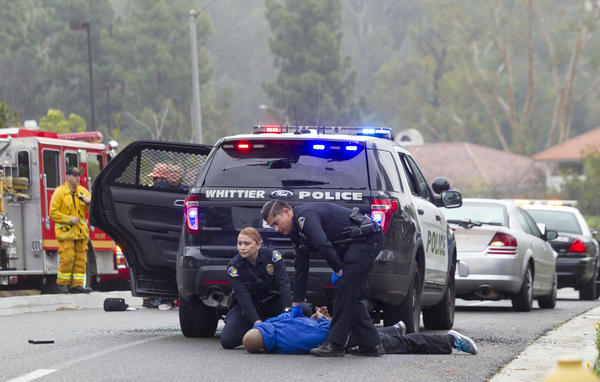 Paroled gang member kills california officer responding to traffic accident police chicago - Police officer in california ...