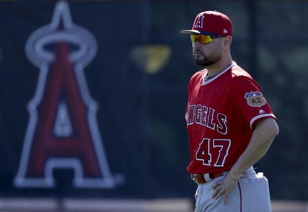 Angels pitcher Ricky Nolasco hopes his workload, and contract situation, work out for the vest