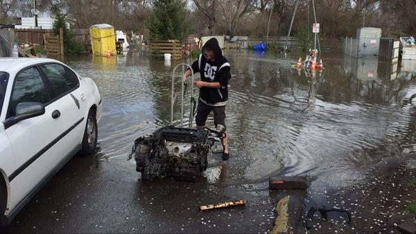 'Once-in-a-lifetime' flooding prompts hundreds of rescues in San Jose