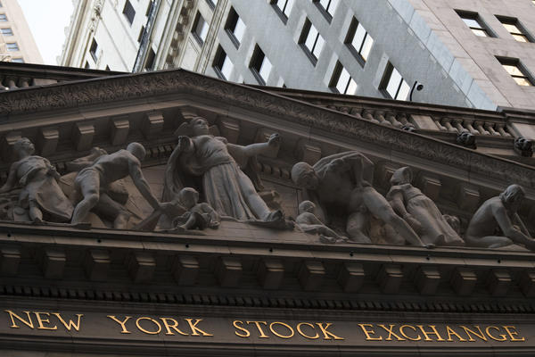 Stocks edge back from record