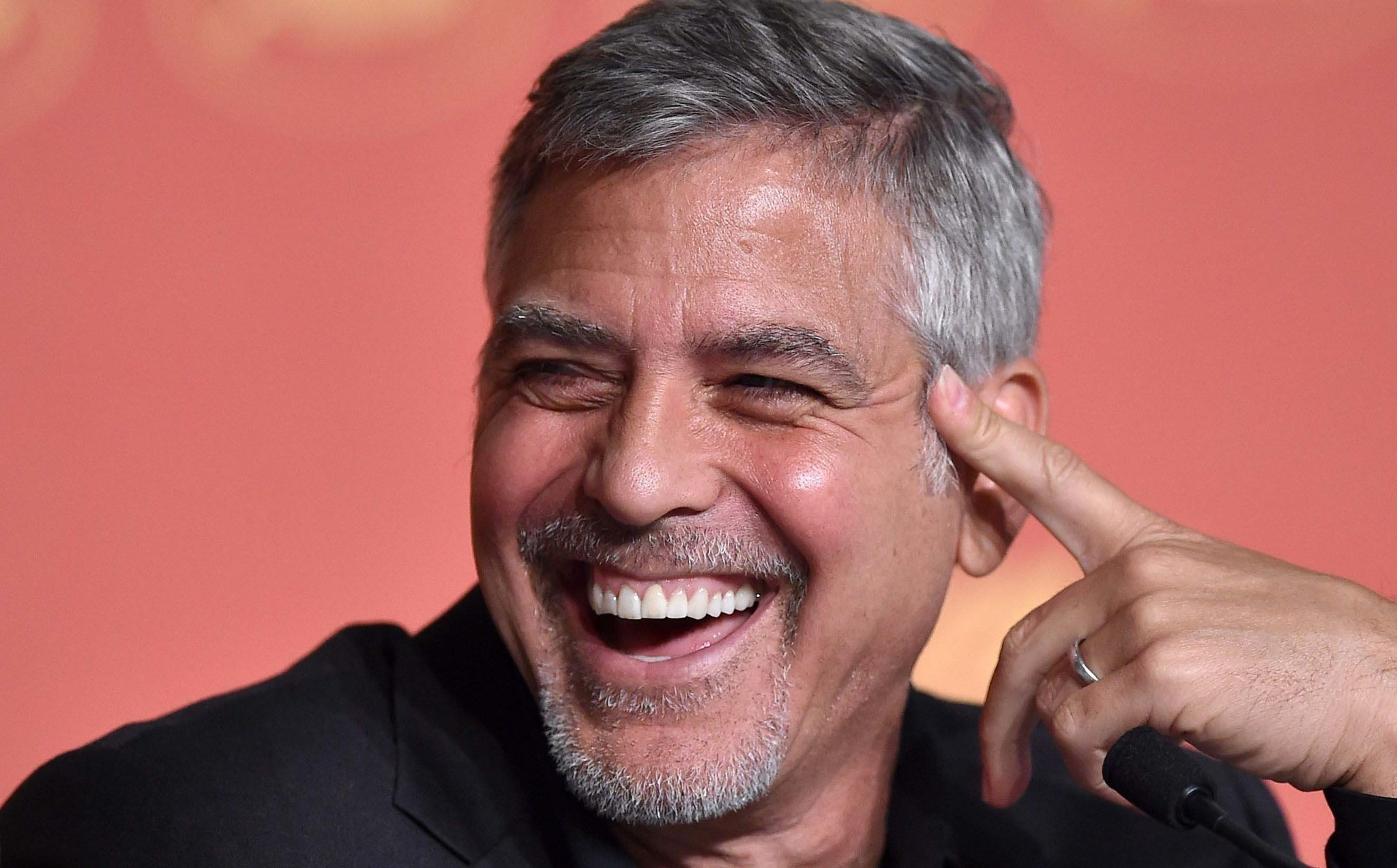 george clooney if you think about it trump is a