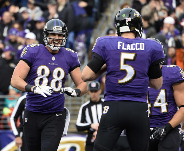 For Ravens, Joe Flacco-to-Dennis Pitta a recipe for 'failed completions' in 2016