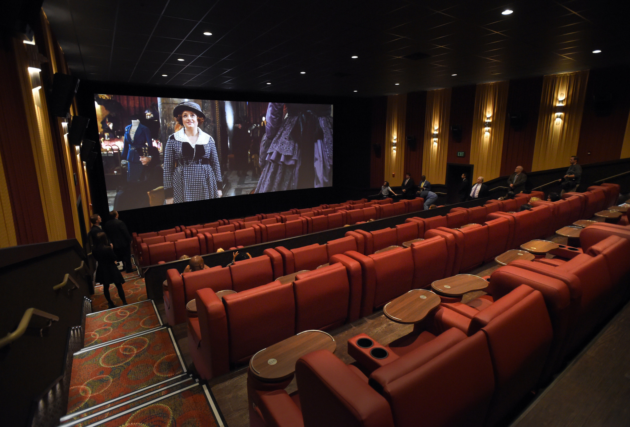 Upscale movie theater