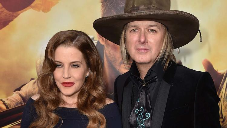Lisa Marie Presley and Michael Lockwood in May 2015. (Kevin Winter / Getty Images)